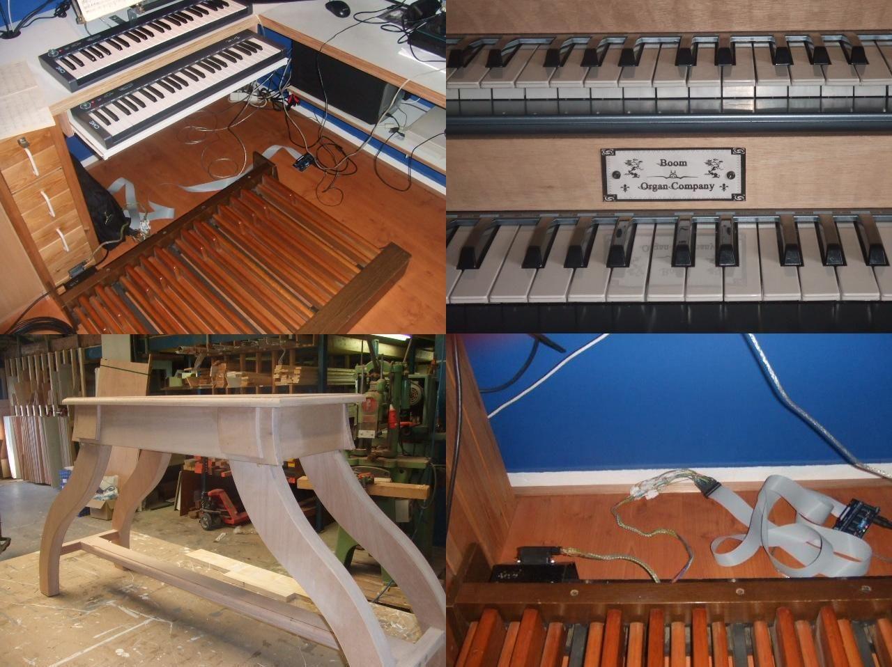 PC organ Hauptwerk virtual software organ on computer via