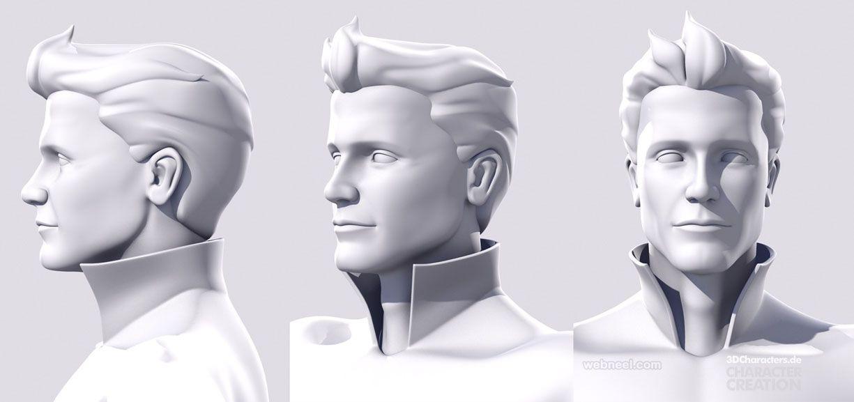 face 3d modelling by robert kuczera