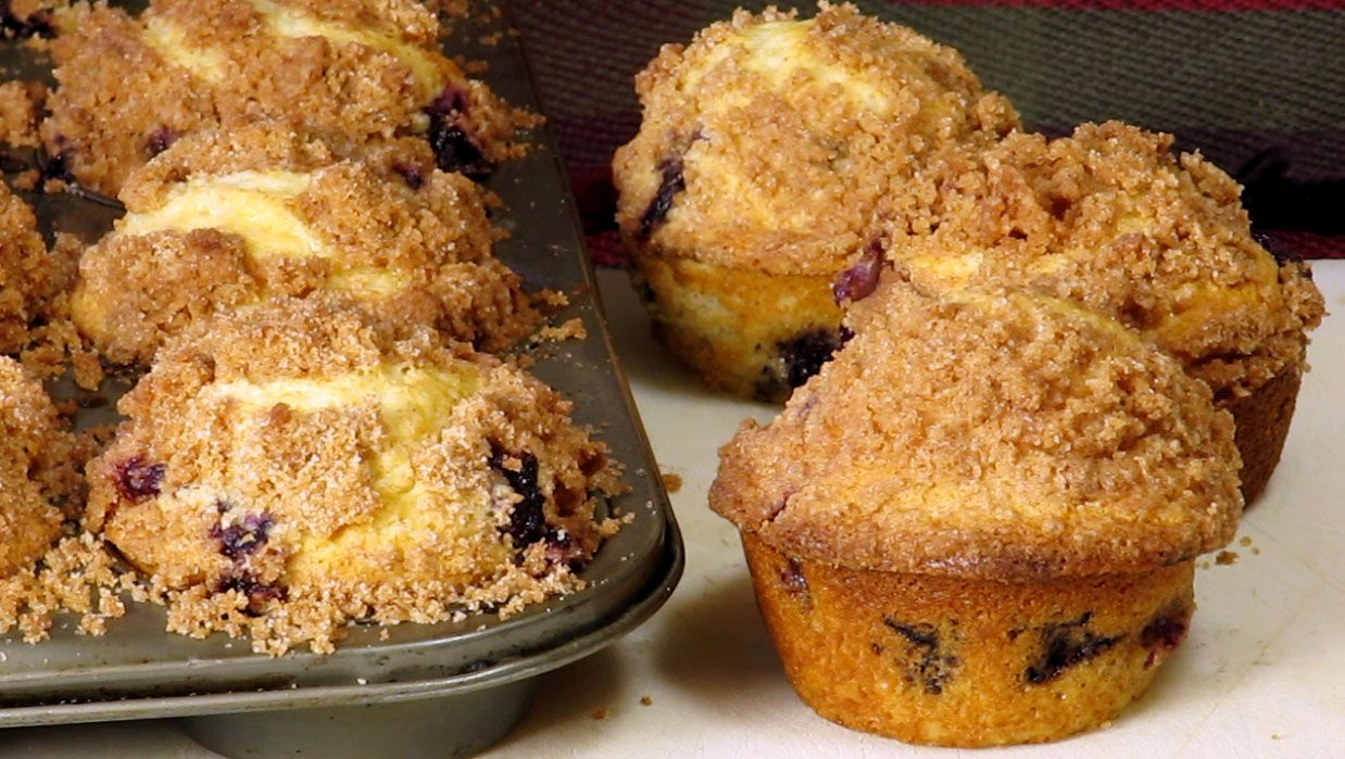 Blueberry Muffins | What's For Dinner