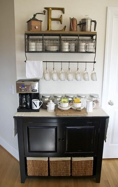 Diy Home Coffee Bar Inspiration Coffee Bar Home Home Kitchens Home