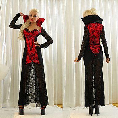 blodsugande+vampyren+vuxna+kvinnor+halloween+costumefor+karneval+–+SEK+Kr.+183