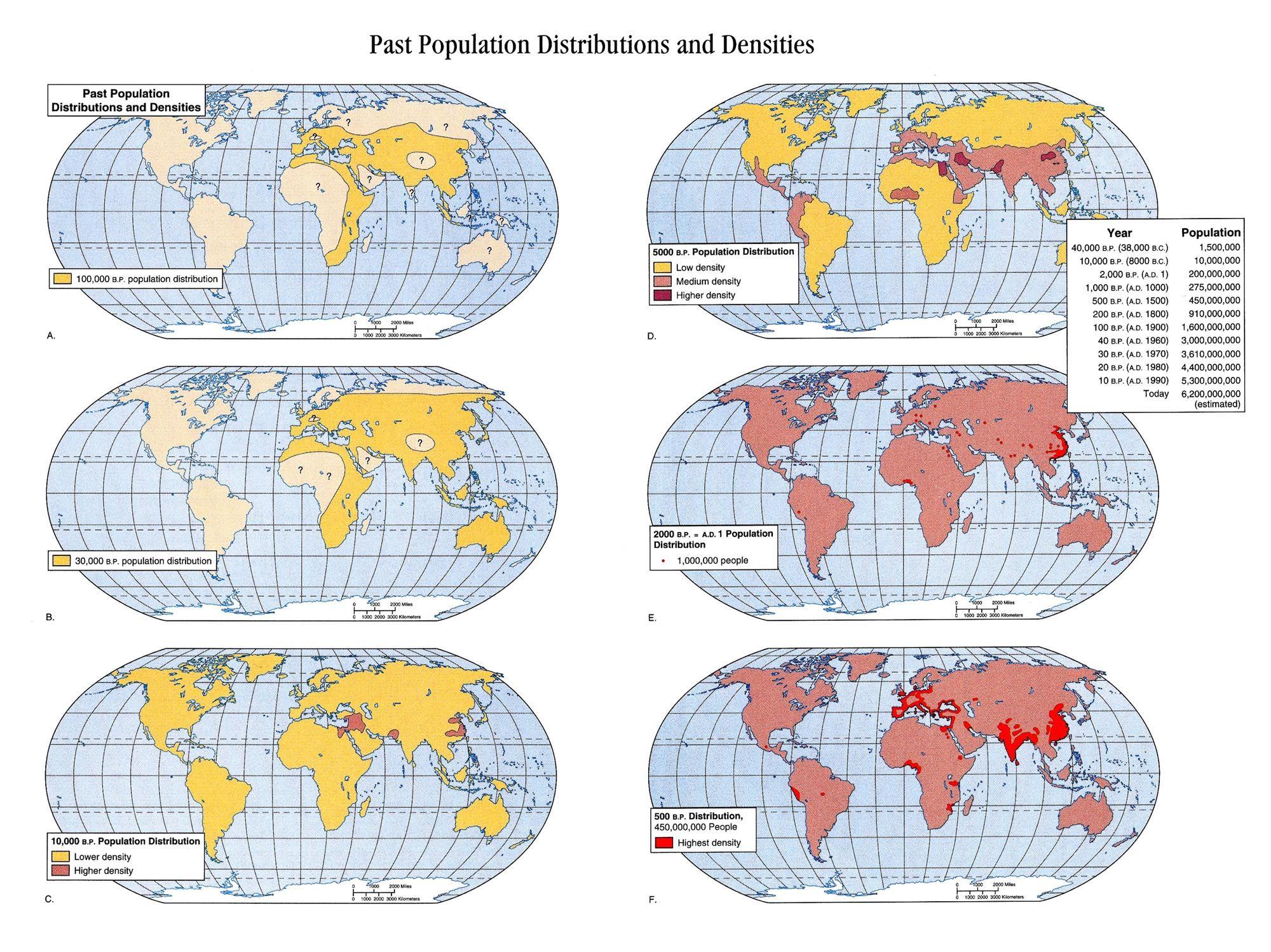 Population Density Over Time
