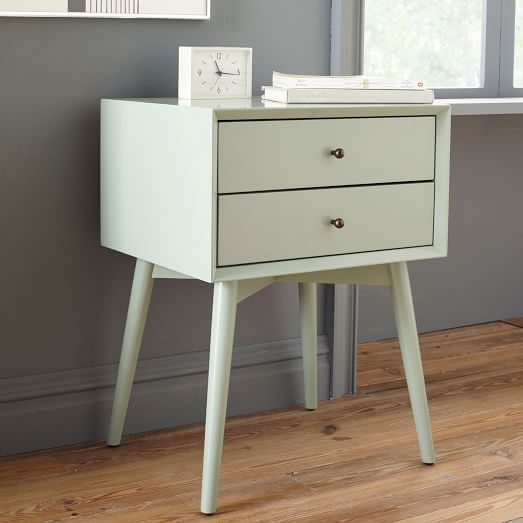 Mid Century Nightstand Oregano This Is A Tad High But If You Have