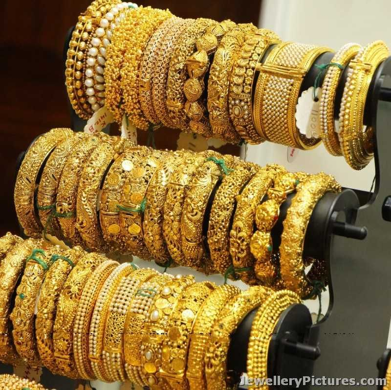 gold bangle latest designs | jewellery | Pinterest | Gold bangles ...