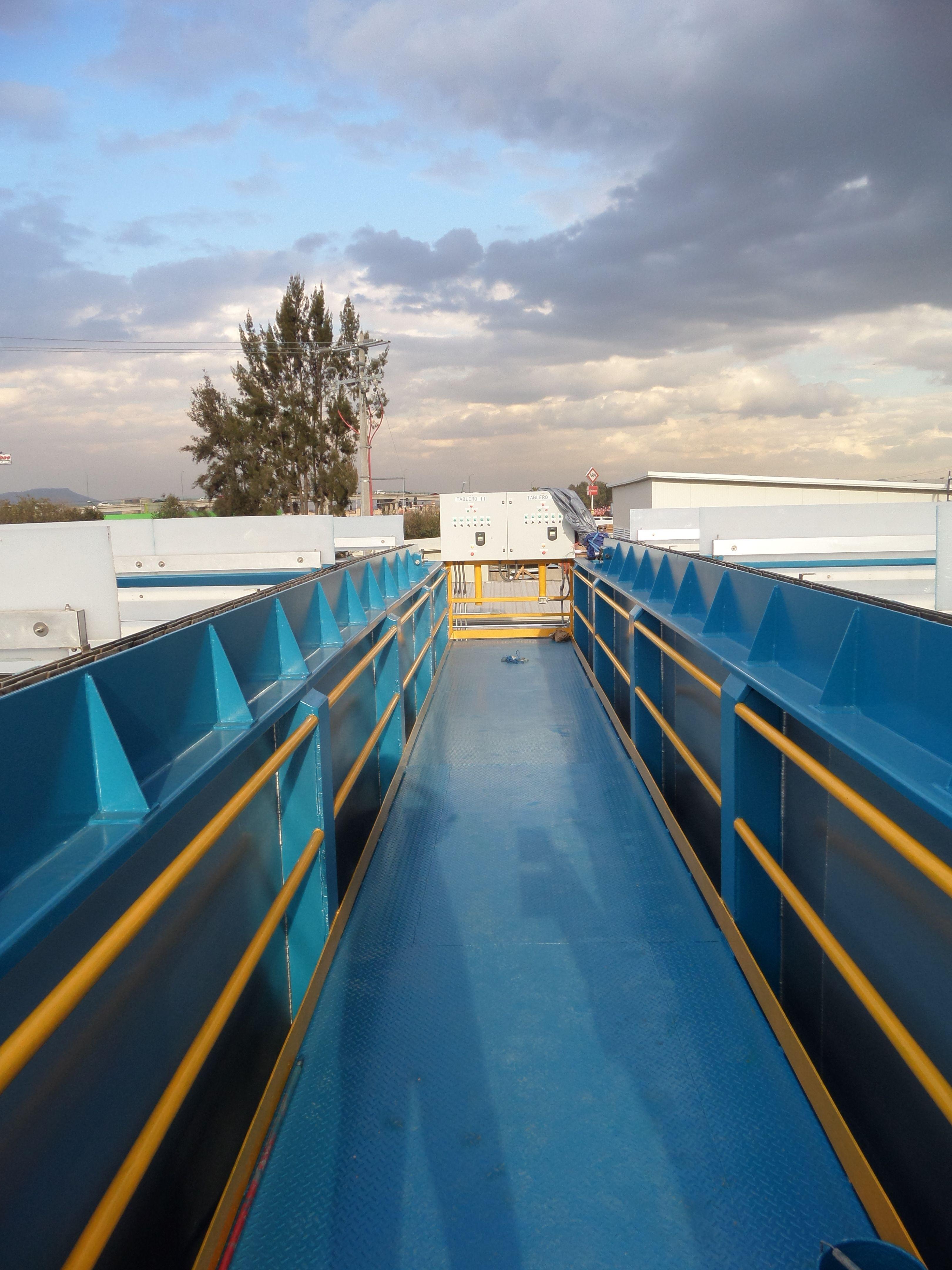 DAF de 320 LPS para el tratamiento de aguas residuales del Gran Canal en el estado de México