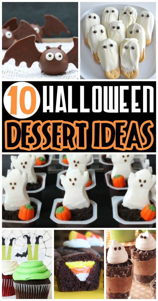 50 FUN Halloween Foods - Halloween Themed Food for Every Meal - halloween party treats ideas