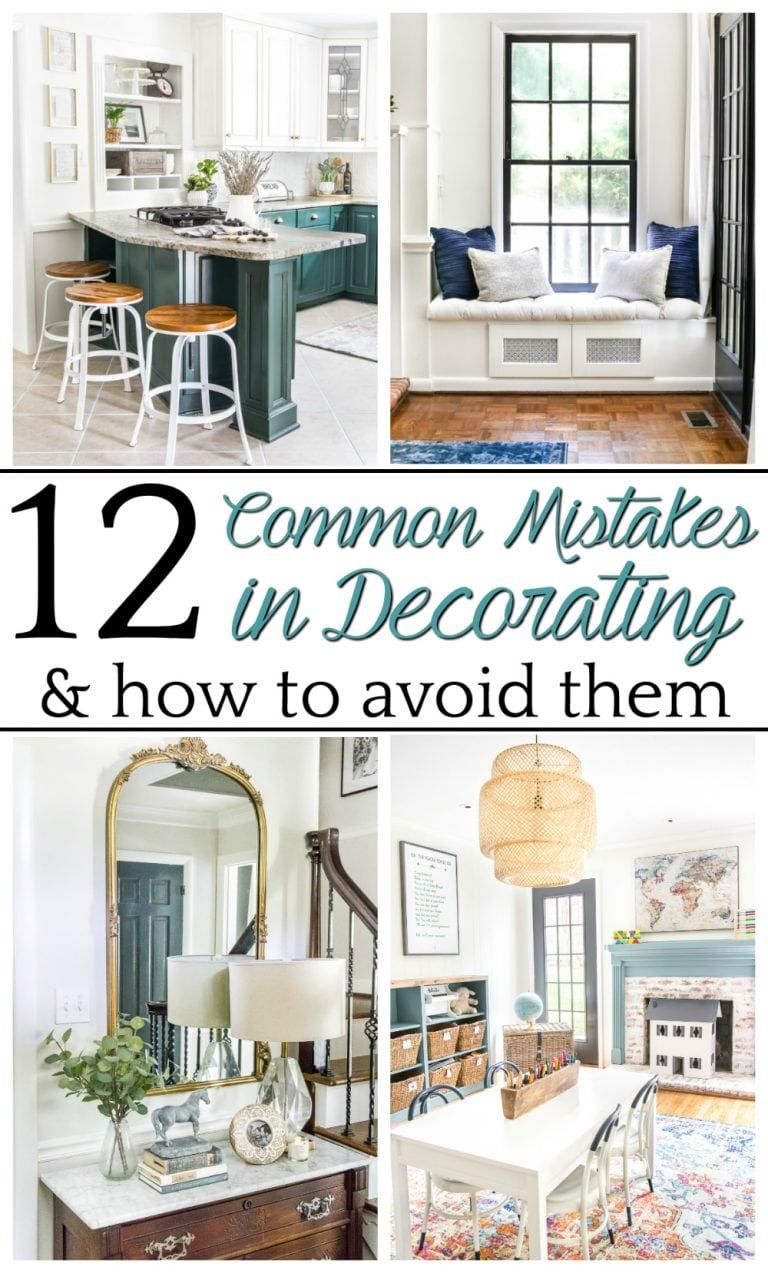 Common Decorating Mistakes and How to Avoid Them