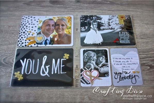 Project Life Love Story Ideas Stampinup Projectlife Lovestory