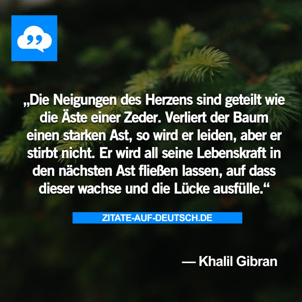 Ast, #Baum, #Herz, #Lebenskraft, #Leiden, #Neigung, #Spruch ...