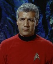 Barry Russo as Lt. Cmdr. Giotto