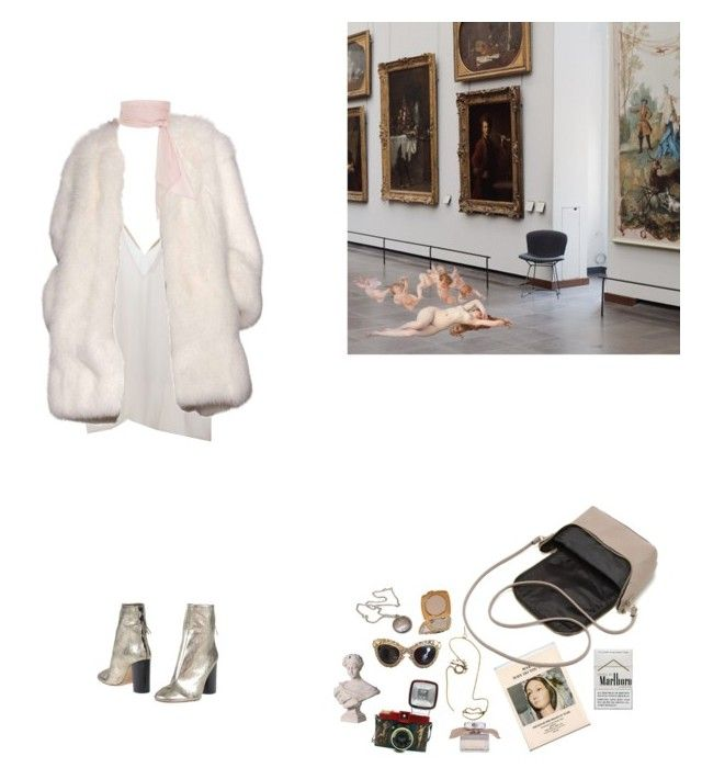 """""""Untitled #166"""" by liliakorobkina ❤ liked on Polyvore featuring Rosie Assoulin, Dolce&Gabbana, Chloé, Lomography, Amen, Derek Lam, Vintage Collection, MDS Stripes and Isabel Marant"""