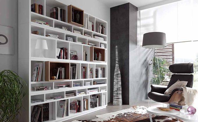 Muebles librerias modernas buscar con google librerias for Muebles librerias para salon