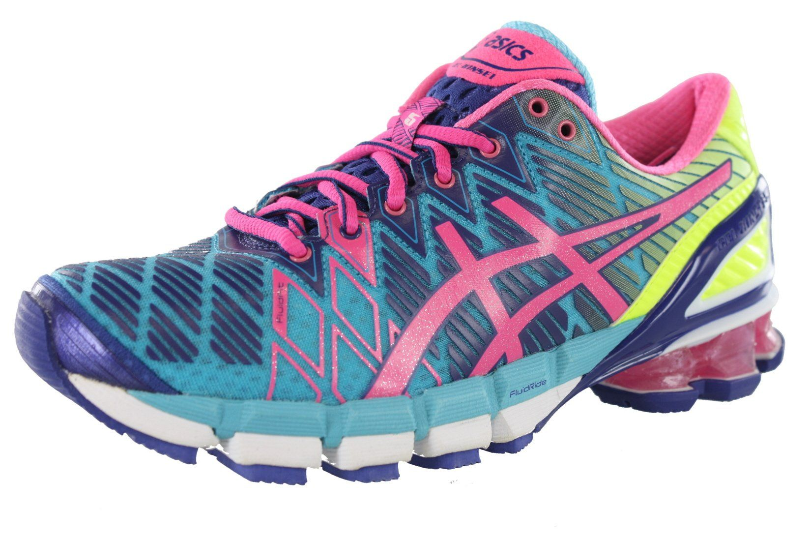 ASICS Women's GEL-Kinsei 5 Running Shoe (6 B(M) US, Blue/Florida ...