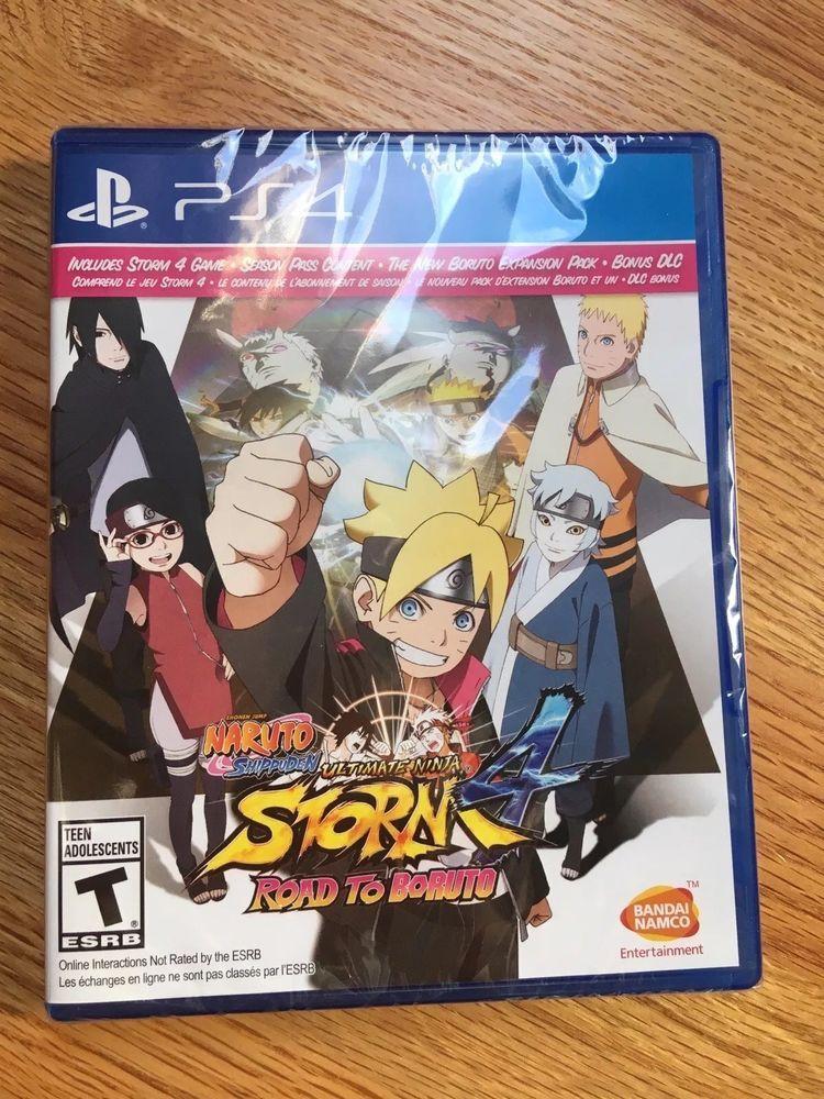 Naruto Shippuden Ultimate Ninja Storm 4 Road To Boruto Sony Playstation 4 Naruto Games Naruto Naruto Shippuden