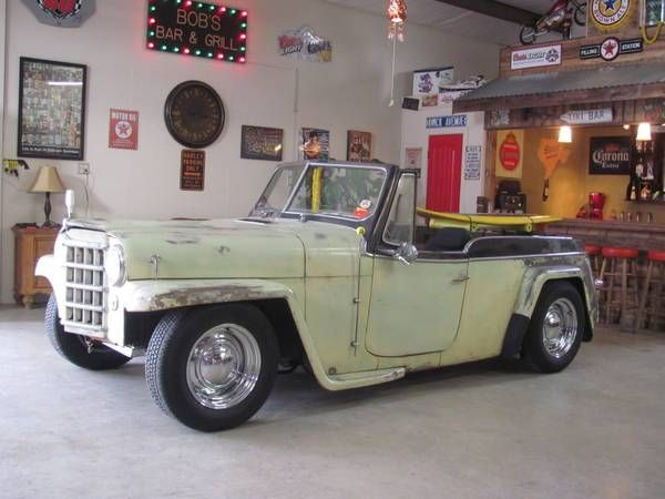 Rat Rod 1950 Willis Jeepster Jeepster Willys Jeep Willys Wagon