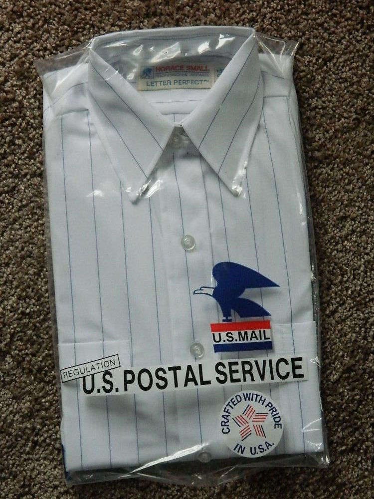 1 New USPS Ladies Size 46 Postal Uniform Shirts White