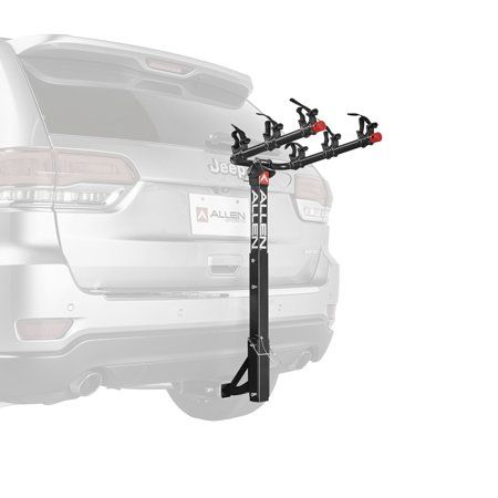 Allen Sports Deluxe 3 Bicycle Hitch Mounted Bike Rack Carrier