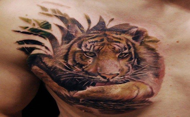 8 Burning Tiger Tattoo Designs For Men Jungle Tattoo Tiger Tattoo Design Tiger Tattoo