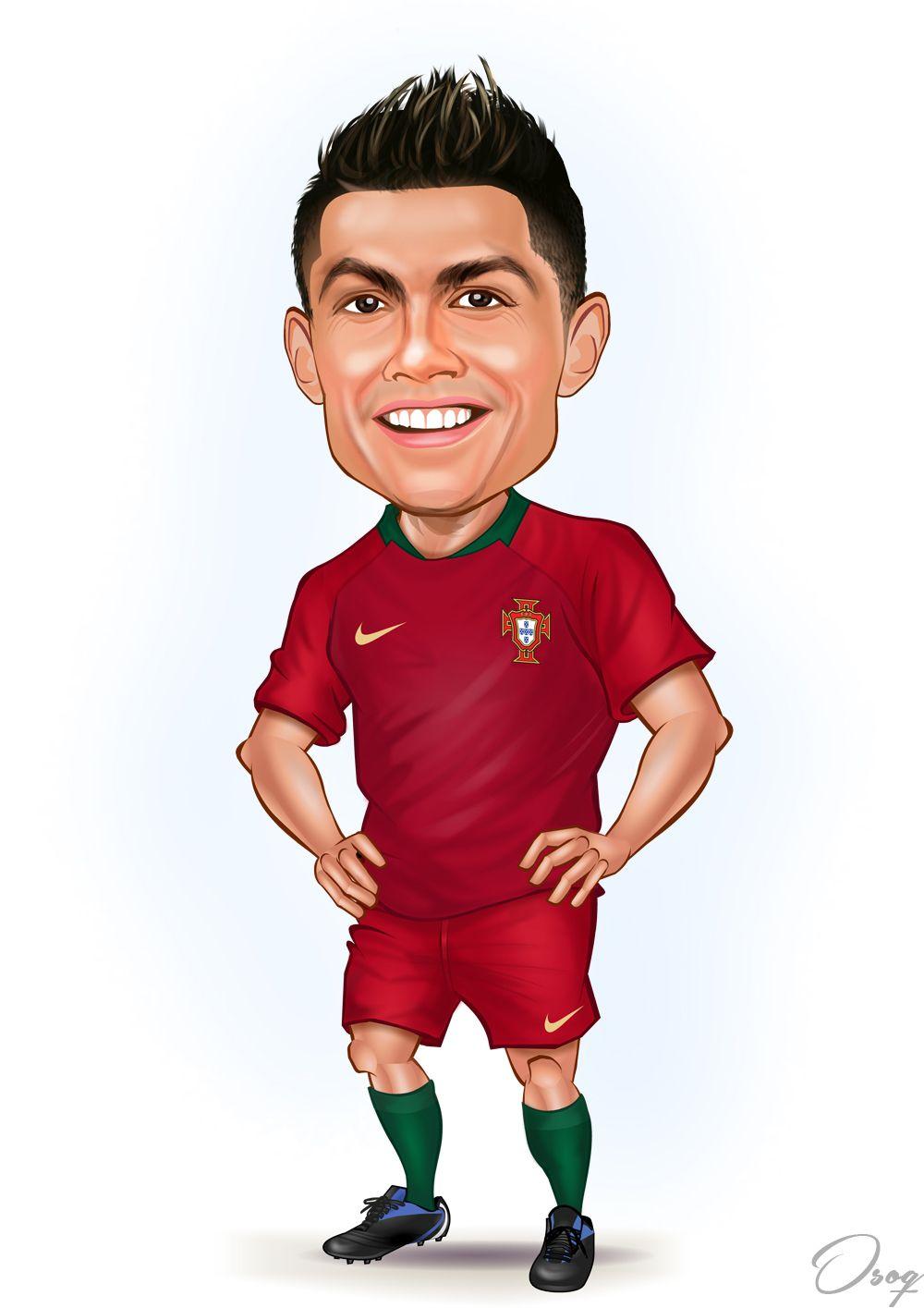 Soccer Cristiano Ronaldo Cartoon Ronaldo Cristiano Ronaldo Celebrity Caricatures