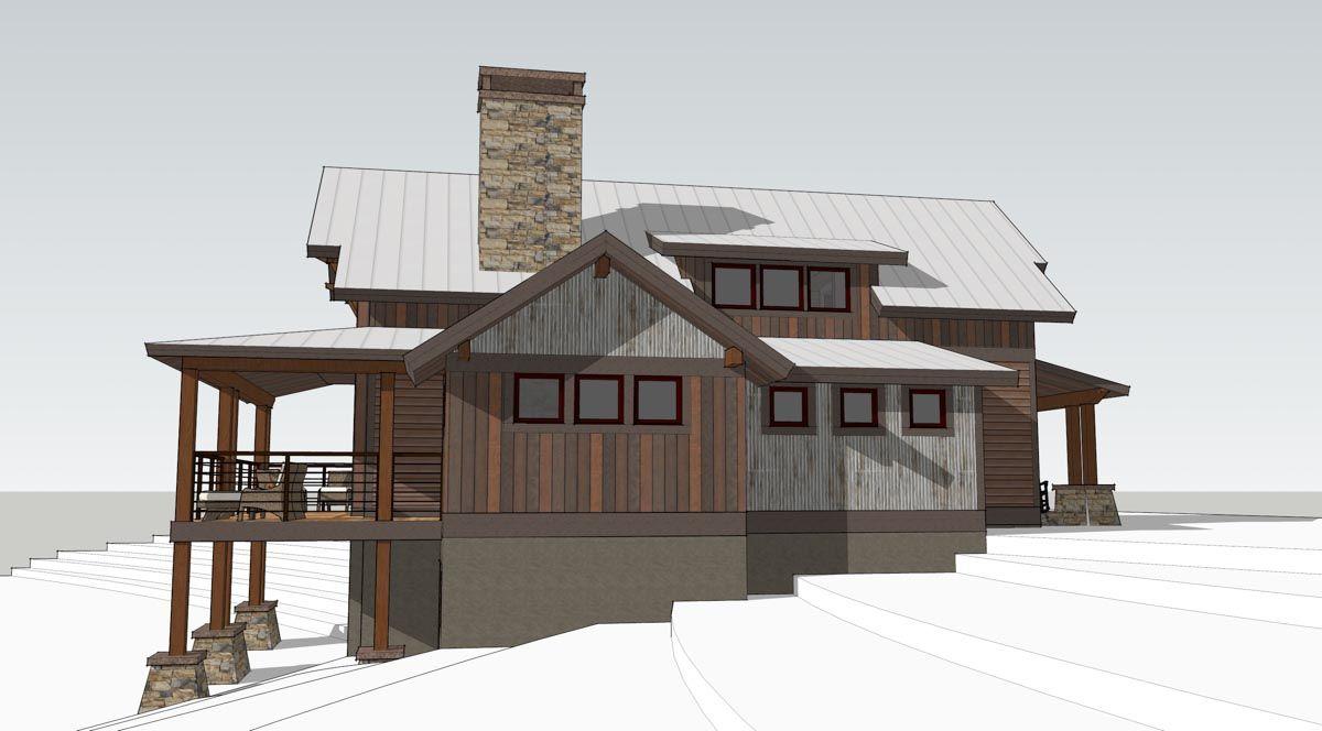 Lake Cottage | Timber Frame Home Designs | Timberbuilt | Haus in
