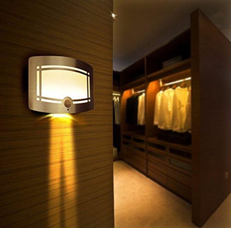 Hot New Led Wall Lamp Wireless Stick Anywhere Battery Ed Motion Sensor Light Home Decoration Closet