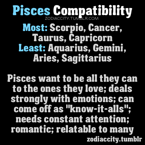 sun sign pisces compatibility