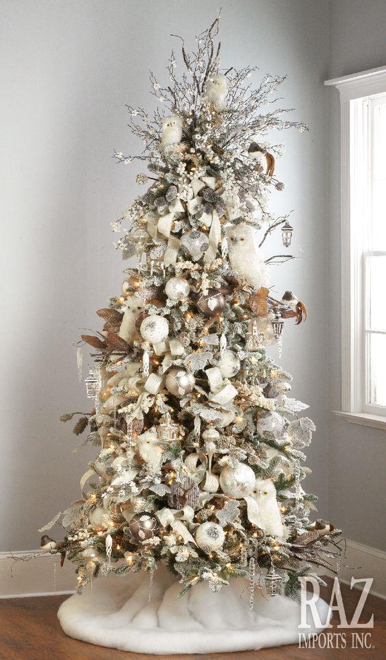 Winter Woodlands Christmas Tree Via Razimports