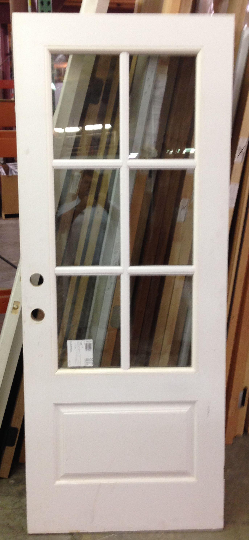3 4 Lite 6 Lite 1 1 4 Sdl Bar Fiberglass Exterior Front Door Www Windsonglife Com Exterior Doors With Sidelights Exterior Front Doors Exterior Doors