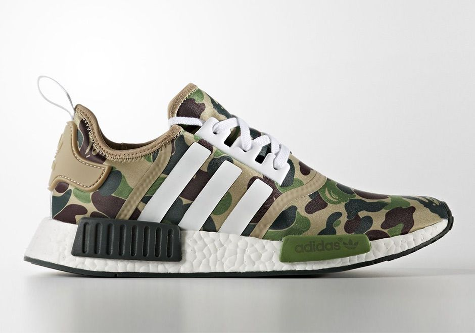 0268ff73f0644 First Look at the BAPE x adidas NMD  thatdope  sneakers  luxury  dope   fashion  trending