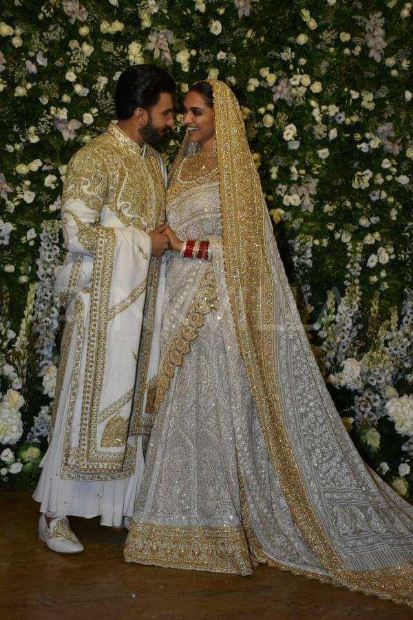 Deepika Padukone And Ranveer Singh Wedding Bollywood Dress Bollywood Wedding Traditional Indian Dress