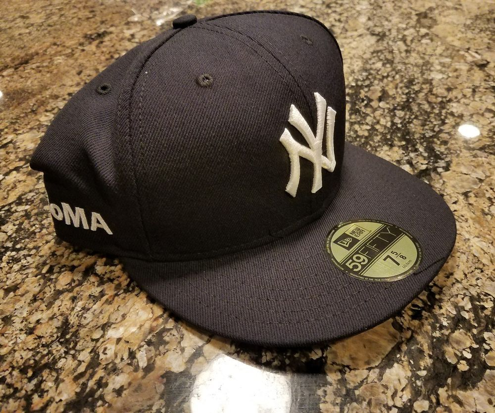 New York NY Yankees New Era Fitted Baseball Cap