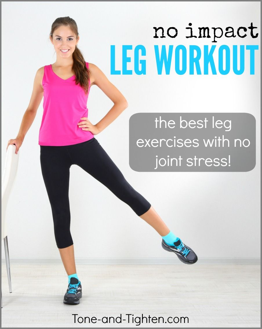 Awesome leg workout for people with knee pain! From the ...