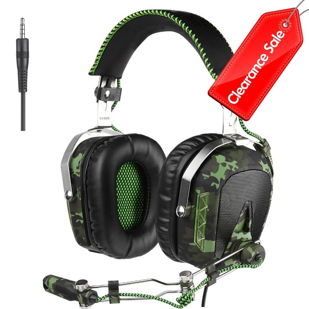 Gaming Headset Headphones For Xbox One Mobile Phone Mac