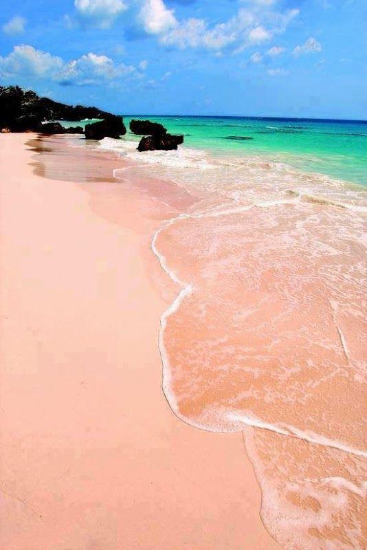 Spiaggia Rosa Pink Beach Budelli Sardinia Italy