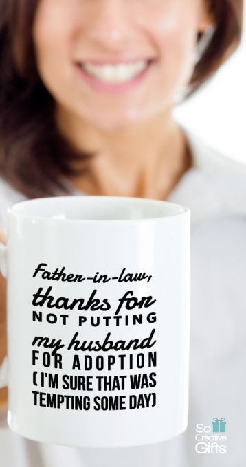 Father In Law Gifts From Daughter In Law - Coffee Novelty