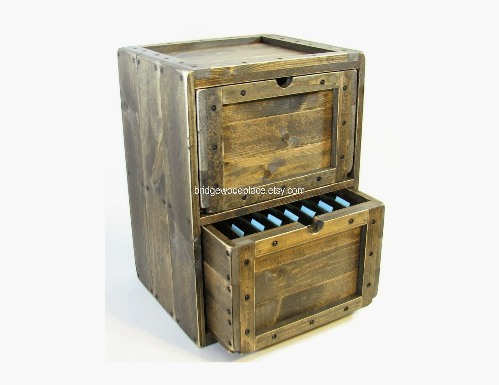 Rustic Filing Cabinet I Think We Could Make This For The Sitting Room Or Maybe As A Table Cabinet For Wooden File Cabinet Wooden Dresser Wood Crate Furniture
