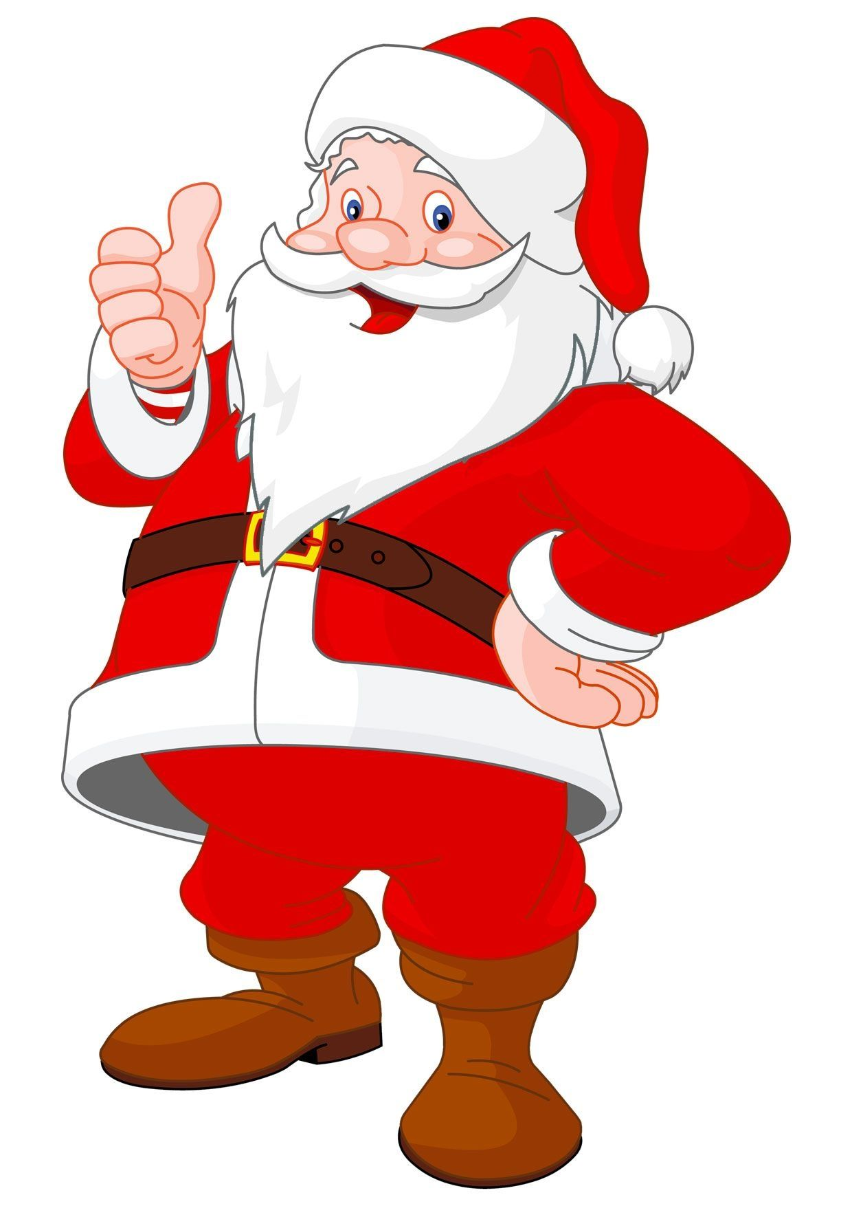 Disegni Di Natale Da Stampare Gia Colorati.30 Disegni Di Babbo Natale Gia Colorati Da Stampare Pianetabambini It Immagini Babbo Natale Da Stamp Santa Claus Images Christmas Cartoons Santa Claus Vector
