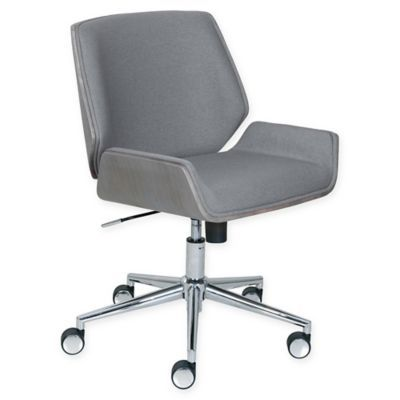 Prime Elle Decor Ophelia Bentwood Office Chair In Grey Products Ibusinesslaw Wood Chair Design Ideas Ibusinesslaworg