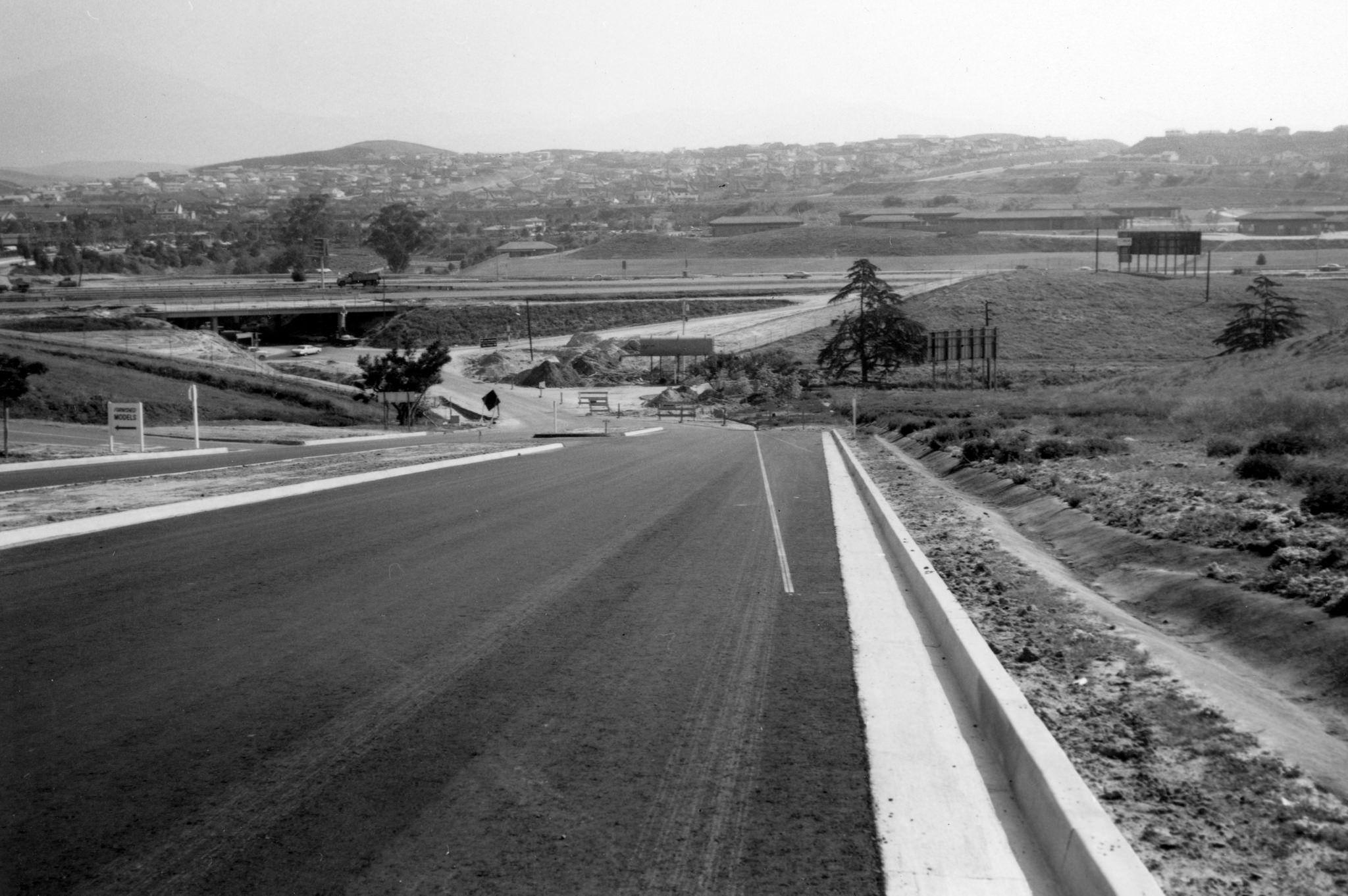 La Paz Road Laguna Hills April 1968 La Paz Laguna Hills San Luis Obispo County