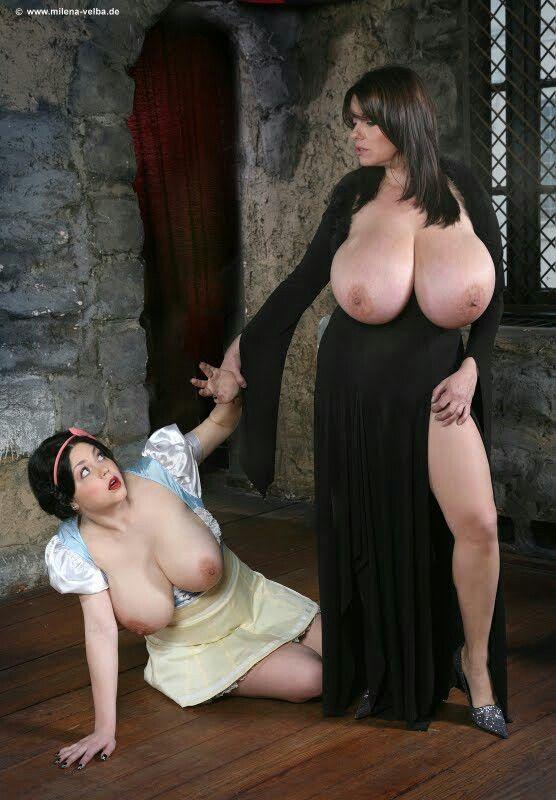 Milena velba fitness with a big ball 4