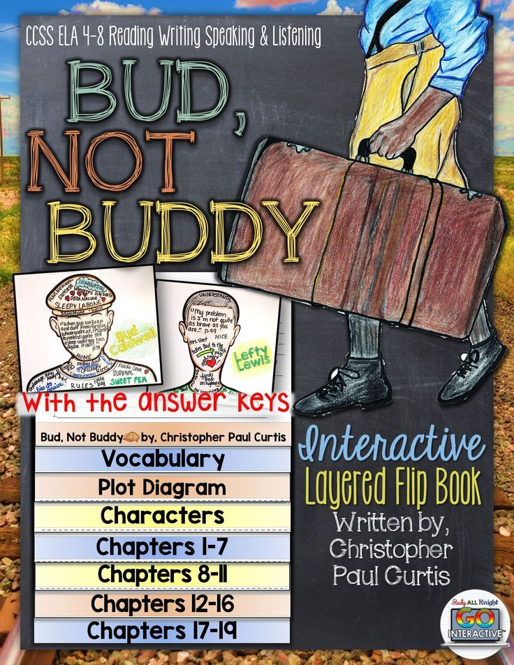 bud not buddy novel study literature guide flip book all things