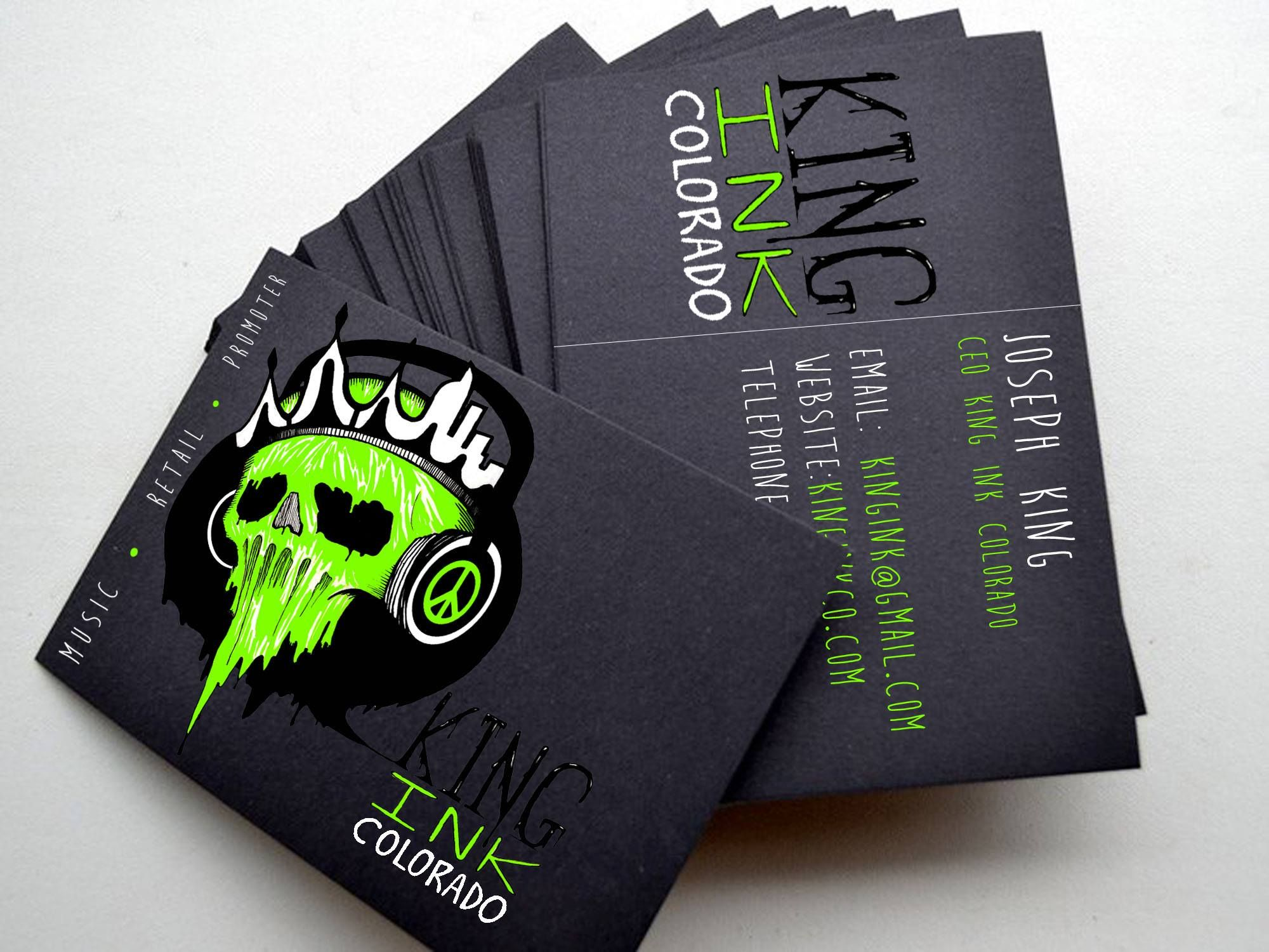 My business card king ink company pinterest business cards business cards colourmoves Images