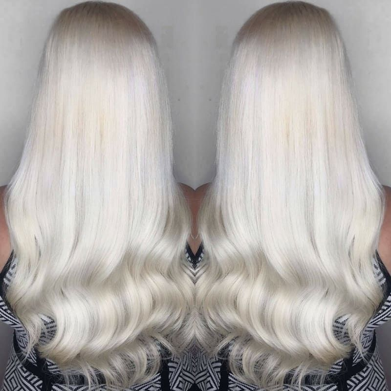 Loving Stunning Icy Blondes Like This Minque Hair Extensions
