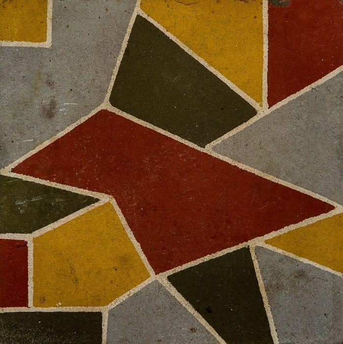 Cementine Cementina Piastrella Piastrelle Pavimento Cemento Vintage Recupero Piastrelle Pavimenti Cemento