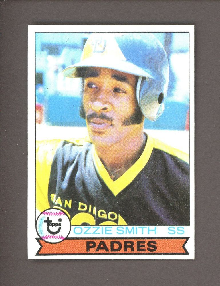 1979 Topps 116 Ozzie Smith San Diego Padres Rc Rookie Hof Baseball Cards Baseball Card Values Baseball Cards For Sale