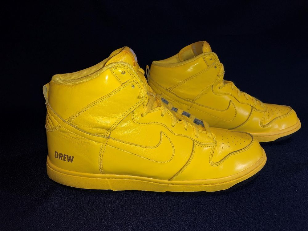 best authentic 5b8d0 197d4 Nike id Dunk high all yellow men sz 11  fashion  clothing  shoes   accessories  mensshoes  athleticshoes (ebay link)