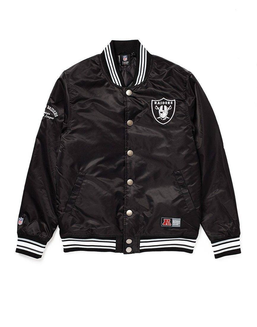 Majestic Athletic Oakland Raiders Varsity Jacket | Oakland Raiders ...