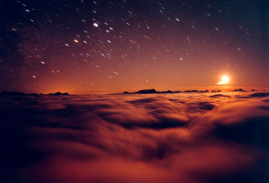 Mysterious sea of clouds