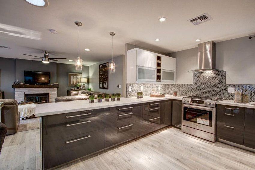 33 Gorgeous Kitchen Peninsula Ideas Pictures Kitchen Peninsula