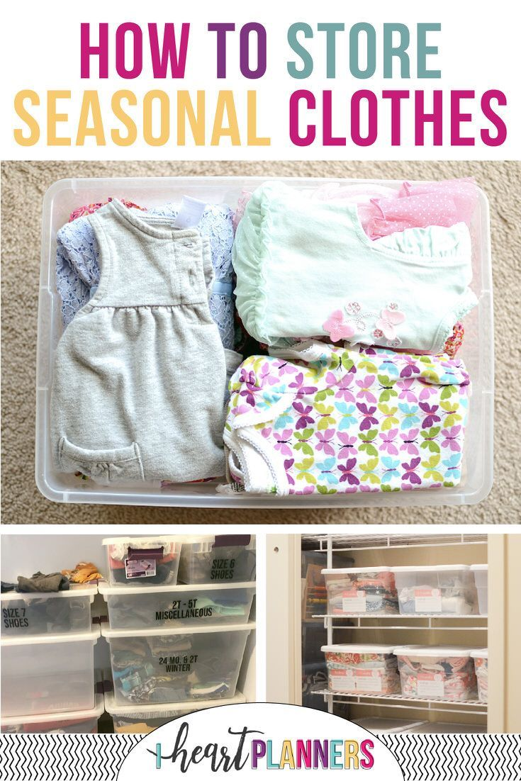 Some Great Tips And Ideas For How To Store Seasonal
